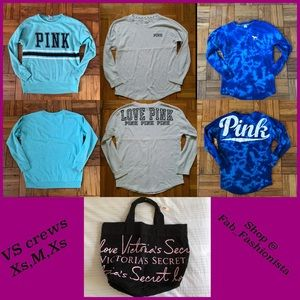 ❗️HOLD❗️Victorias Secret Bundle Crew & tote